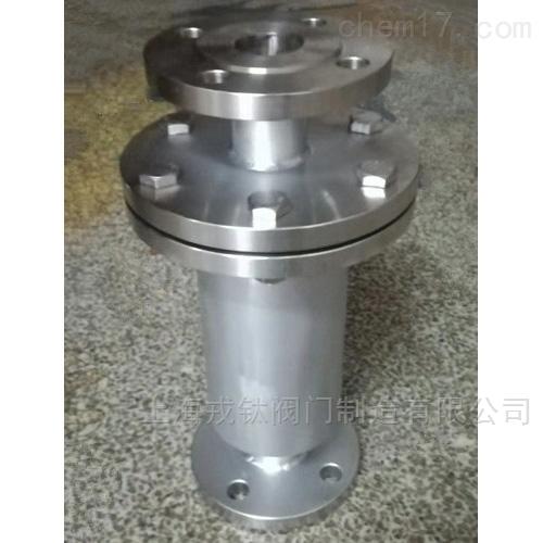金属砾石网型阻火器