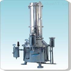 不銹鋼塔式蒸汽重蒸餾水器