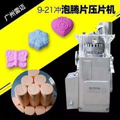 PT-9广州雷迈大型浴盐球成型机消毒片旋转压片机