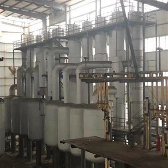 回收四效8吨降膜蒸发器