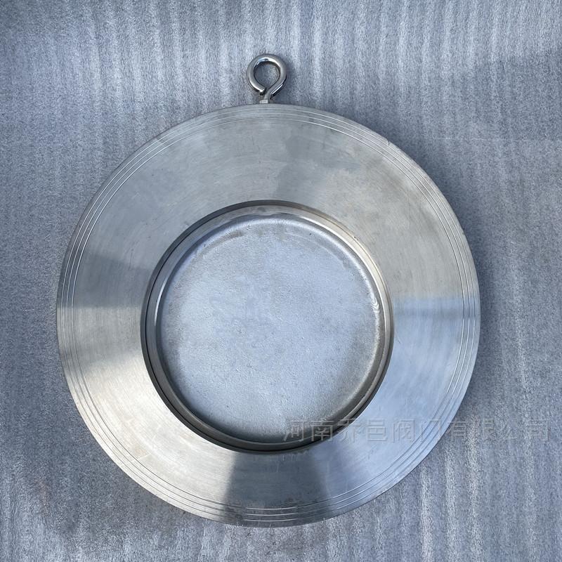 不锈钢对夹式薄型止回阀 软密封单片式单向阀