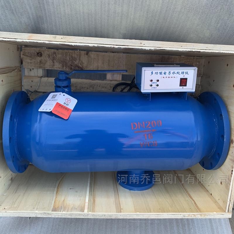 反冲式过滤型电子水处理仪 过滤型射频电子水处理器