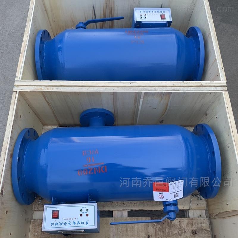 带过滤装置电子除垢器 带过滤装置射频电子水处理器 带过滤装置射频电子水处理仪
