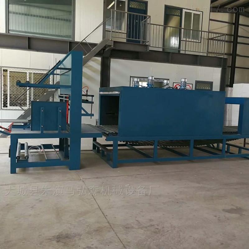 热固硅质聚合聚苯板热缩膜包装机