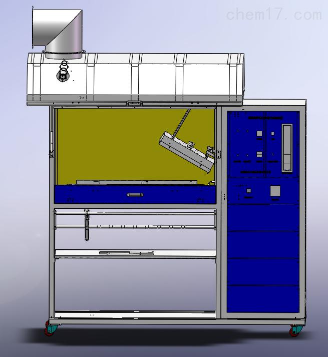 FRF-1 <strong>铺地材料辐射热通量试验装置</strong>-三维图.png