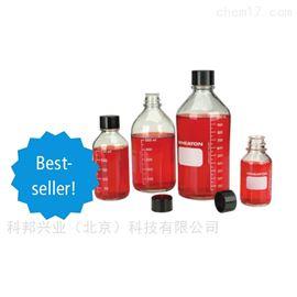 219845美国wheaton 219435带刻度玻璃培养基瓶