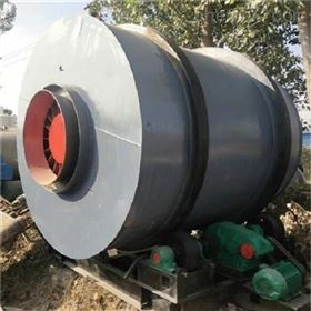 二手三回程滚筒烘干机 时产40吨50吨