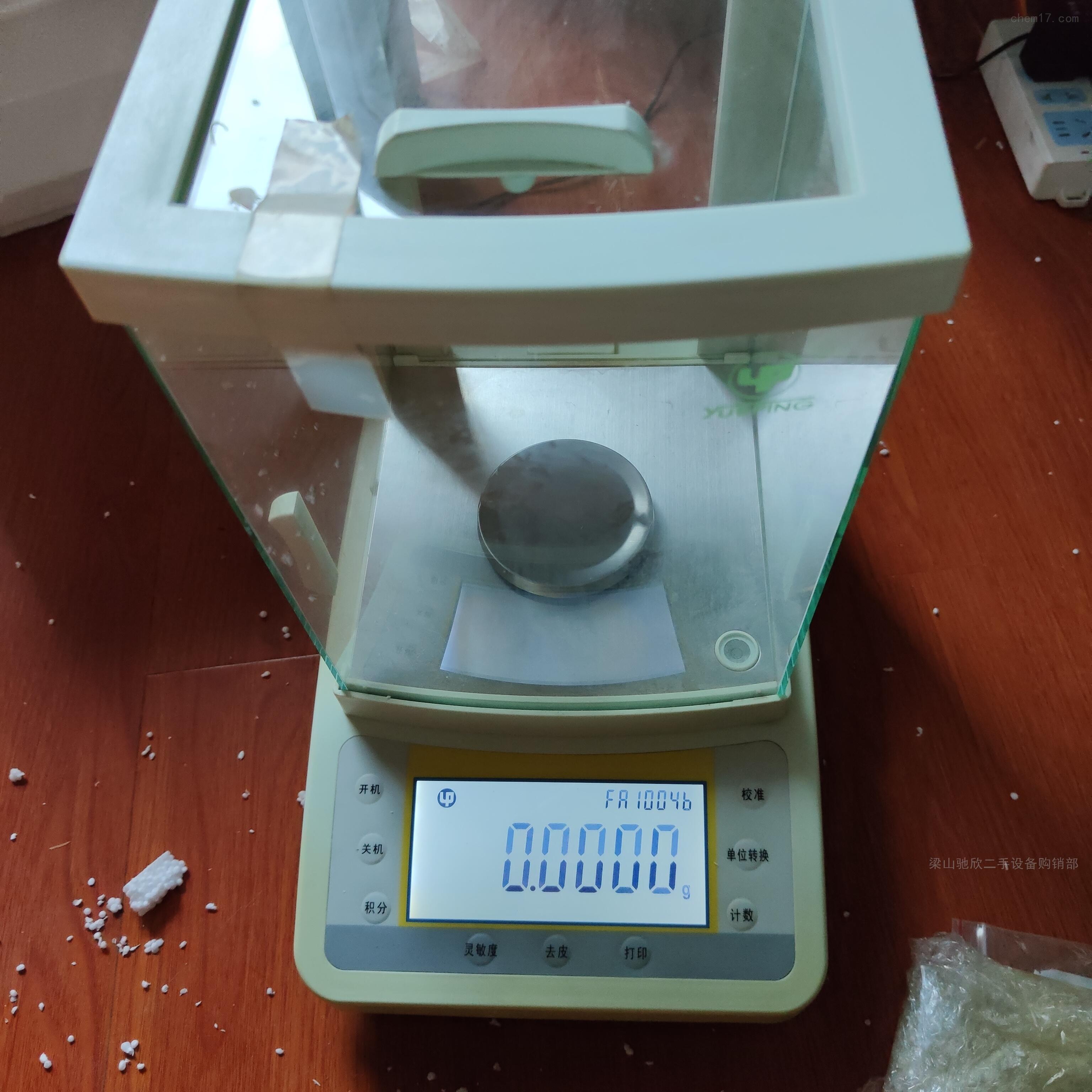 越平FA1004 二手电子天平出售