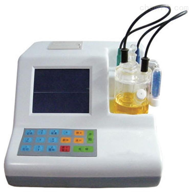 微量水分测定仪(自动排液)