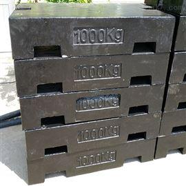 北京配重砝码出租,M1级1吨铸铁砝码报价