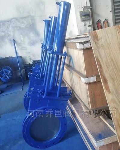 液动不锈钢刀型闸阀 PZ773F/X/Y液动刀闸阀