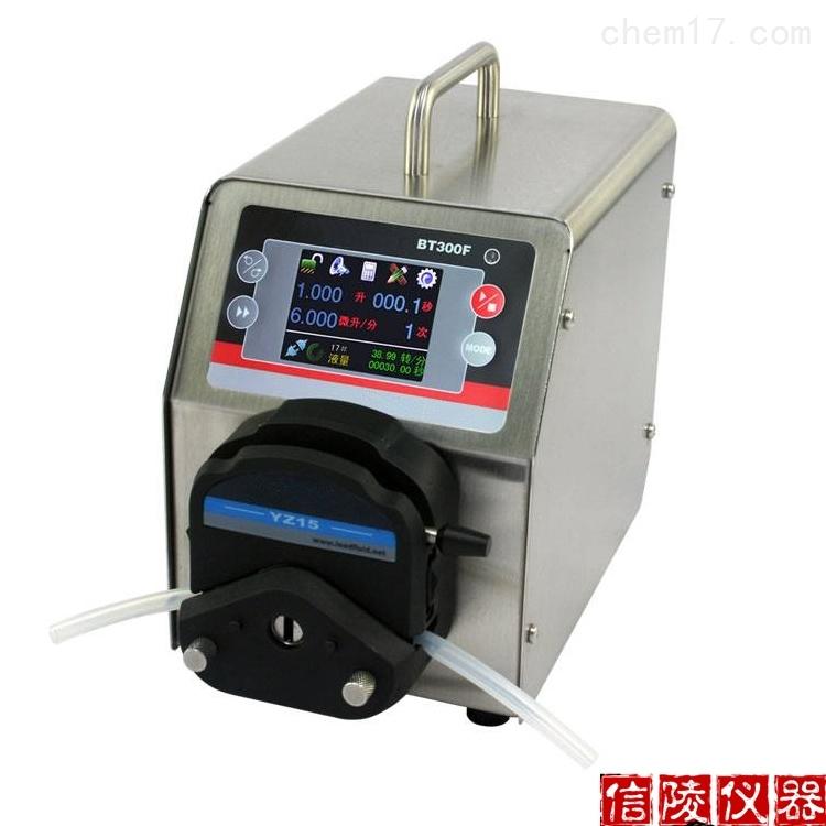 培养基分装器BT100F定时定量液体分装蠕动泵
