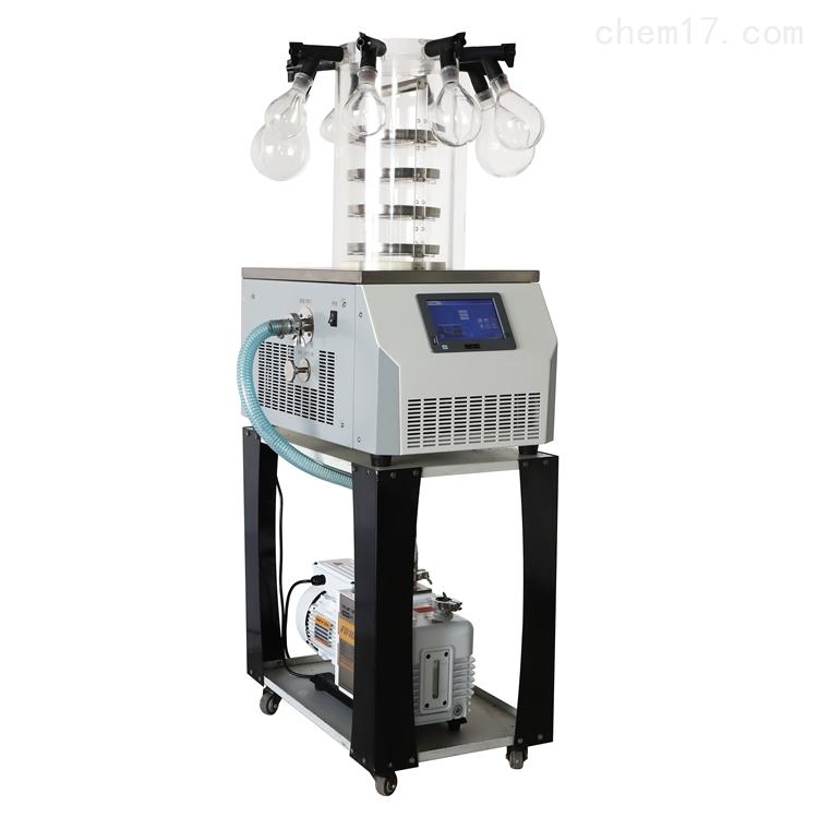 实验室外挂瓶真空冷冻干燥机LGJ-10