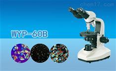 双目简易偏光显微镜