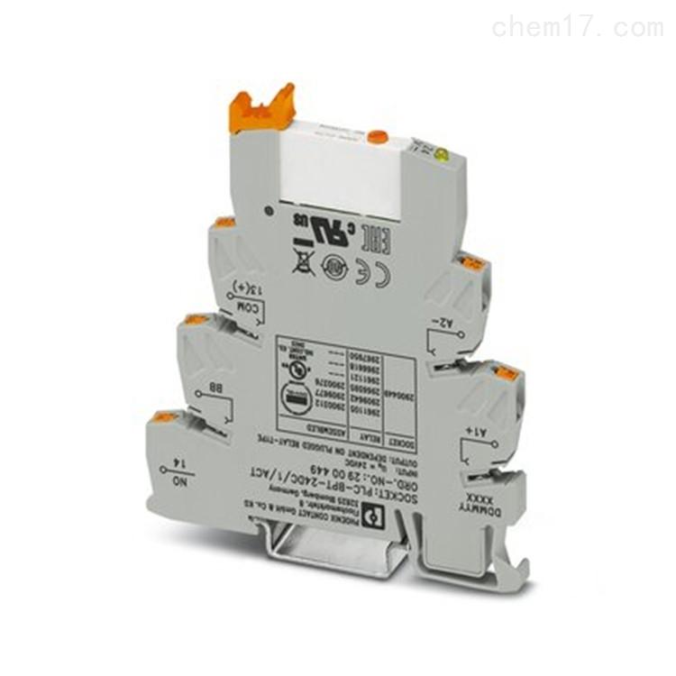 Phoenix继电器模块PLC-RSC- 12DC/21AU/MS