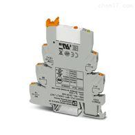 Phoenix继电器模块PLC-RSC- 24DC/21-21/MS