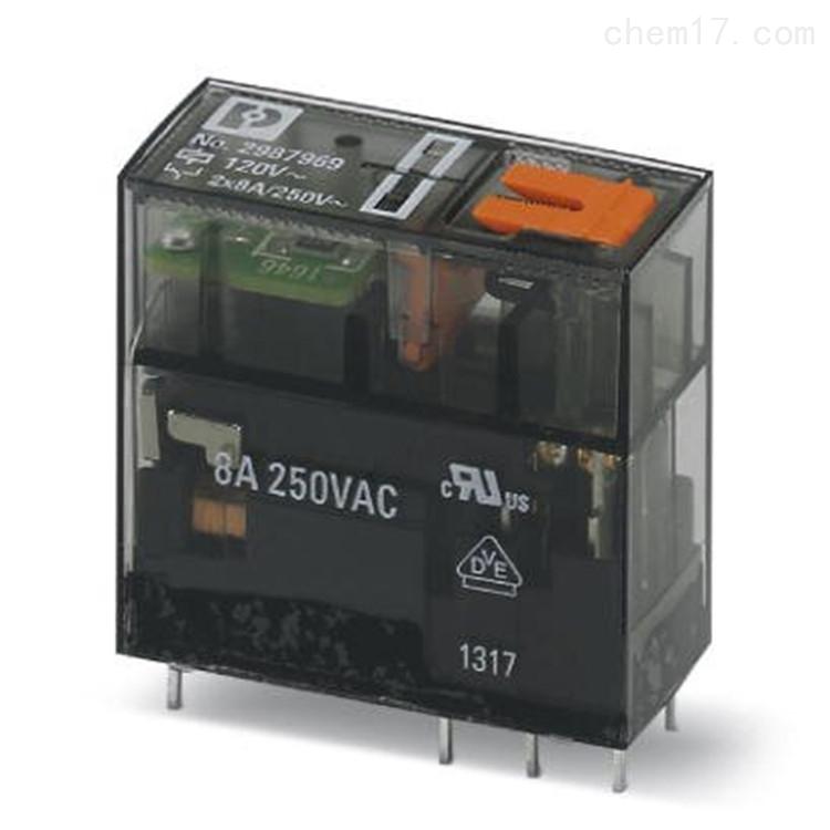 Phoenix继电器REL-MR-230AC/21HC/MS现货