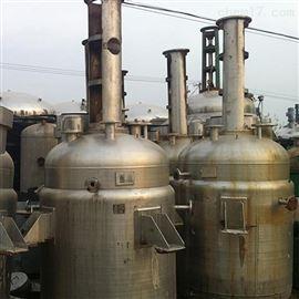 出售二手化工不锈钢反应釜设备