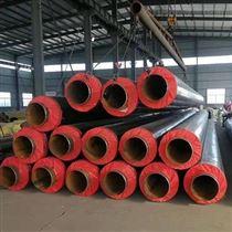 管徑377*7聚氨酯預製發泡采暖保溫管加工