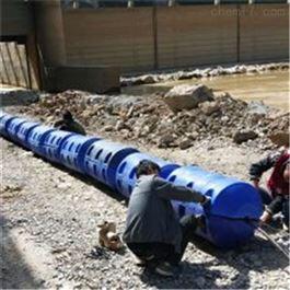 FT600*1000拦截塑料浮排水面垃圾拦污浮筒