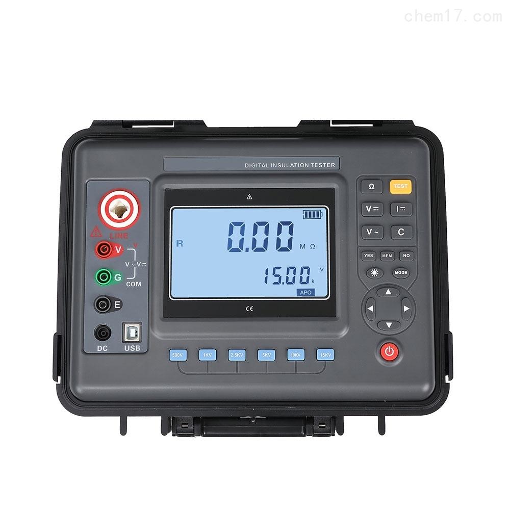 数字式高压绝缘电阻表