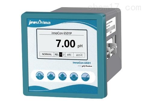 innoCon 6501P中文在线PH分析仪