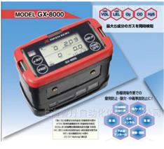 日本理研五合一气体检测仪