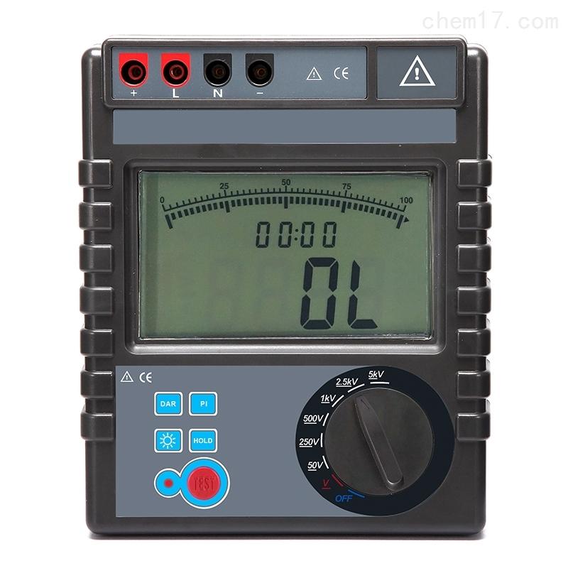 5000V绝缘电阻表(带极化指数和吸收比)
