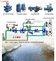 人工湖泊循环水过滤净化系统
