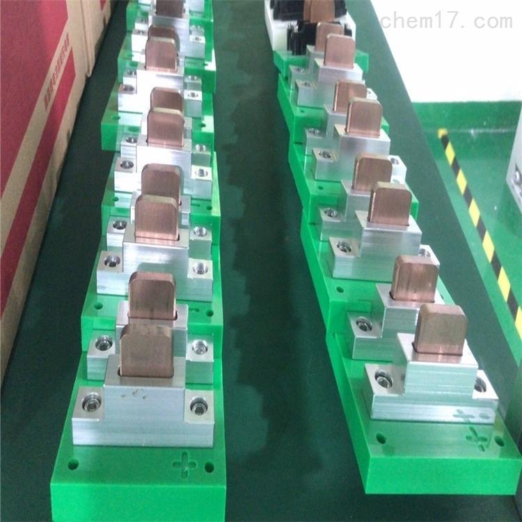 15A 四极带通讯功能充电刷 AGV刷板刷块