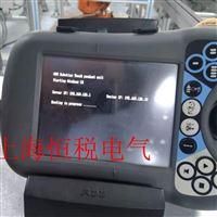 ABB机械手示教器开机不能进入程序修理电话