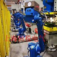 ABB机械手示教器开机自动反复的重启修理点