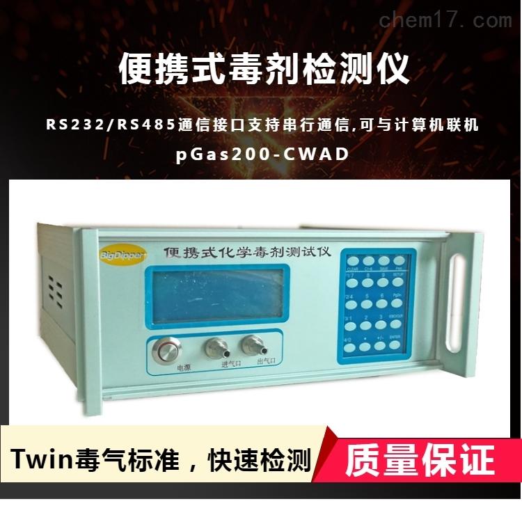 手持式化学毒剂探测器