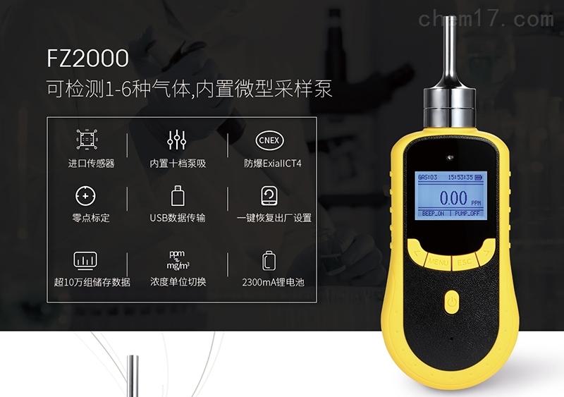 便携氮气气体检测仪