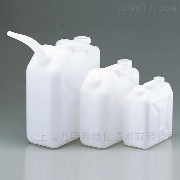 ASONE亚速旺塑料桶(方形带管嘴)