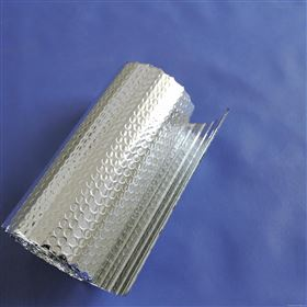 管道纳米反射层纯铝阻燃双层气泡