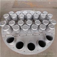 精馏吸收塔304金属泡罩塔盘DN100圆泡帽塔板