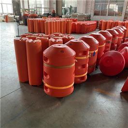 FT600*1000水上工程警示拦截塑料拦污浮筒