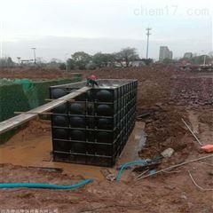 消防增压给水抗浮式地埋箱泵一体化
