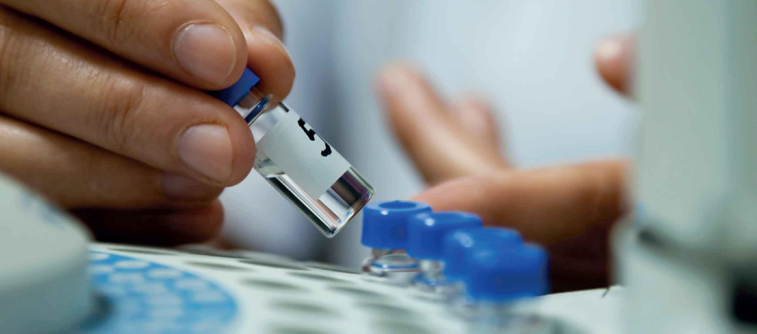 独特的GC小瓶液体采样器是实验室直接分析安全选择的解决方案