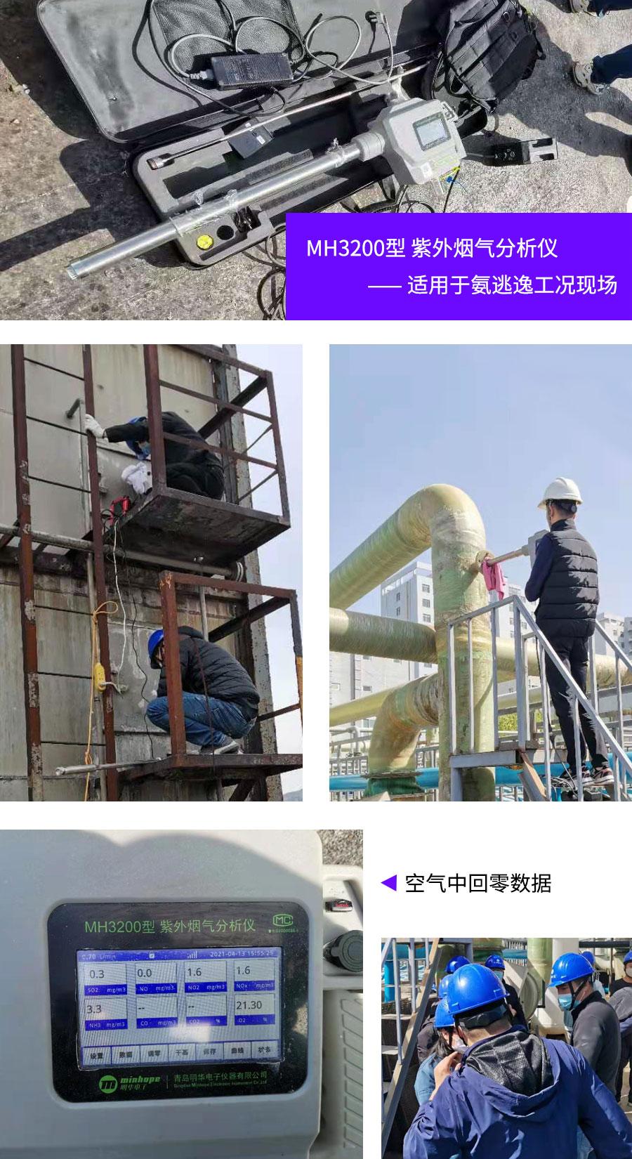 【标准验证】明华紫外MH3200助力河北省氨气检测地方标准验证