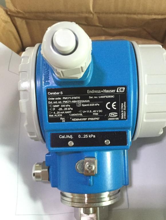 E+H压力变送器PMC71-1BA1C3GBAAA选型资料