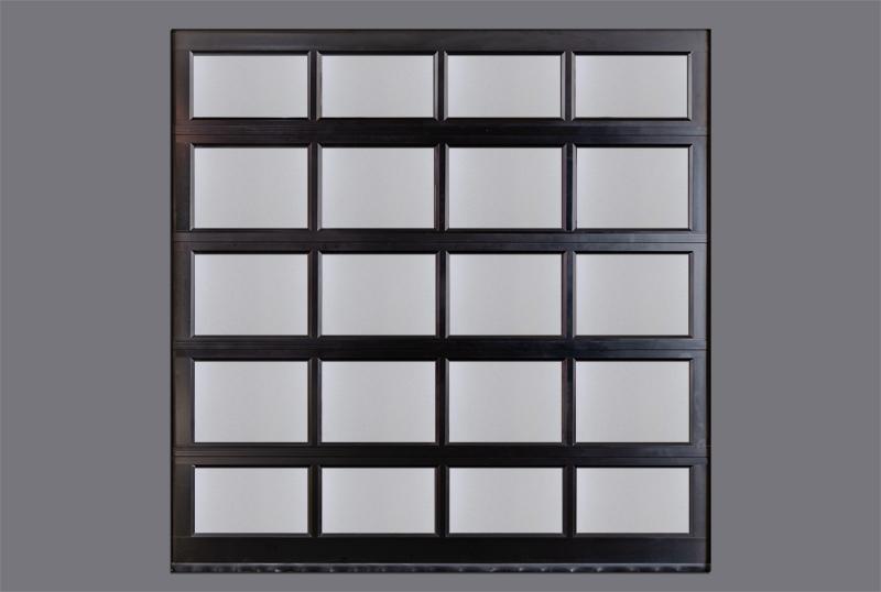 铝合金透视排挂车库门面板工艺