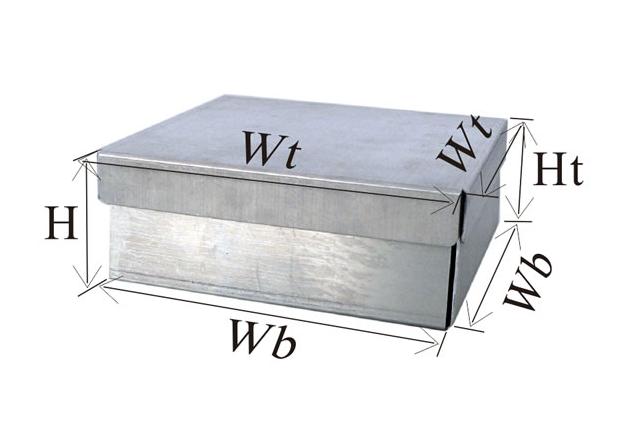 铝制冻存盒