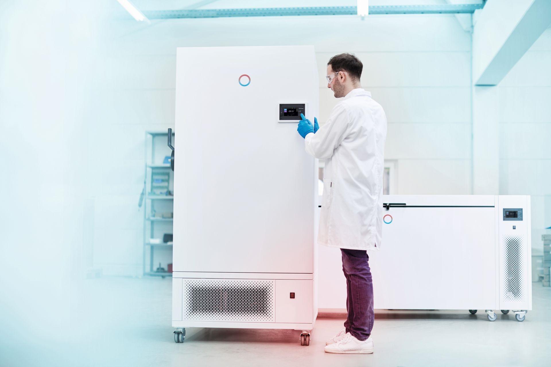 疫苗储存好伙伴 - Versafreeze 深低温冰箱冰柜