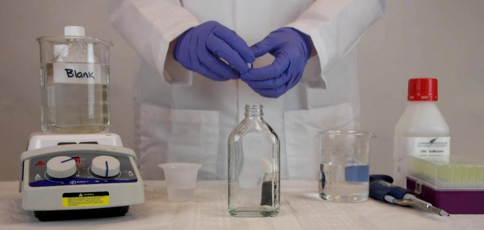 配置水质硬度检测标准溶液