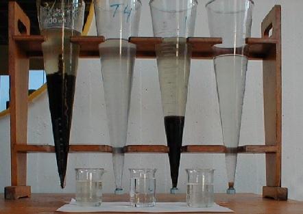 分析水处理滤层中泥质量