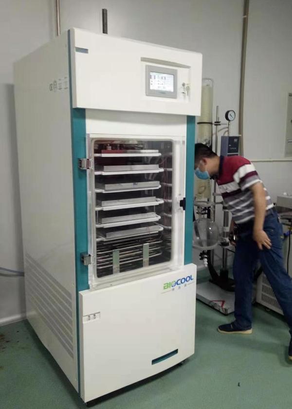珠海中科先进院采购博医康Pilot10-15M冻干机  来源:www.boyikang.com