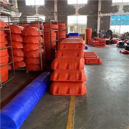 FT600*1000组合式拦污挡渣塑料容器浮筒
