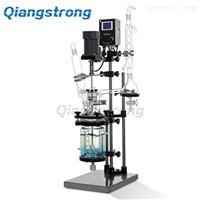 上海羌强S212-5L双层玻璃反应釜